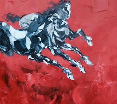 Red Horse Painting Large art painting Horse oil painting | Etsy Abstract Canvas Art, Acrylic Painting Canvas, Canvas Wall Art, Extra Large Wall Art, Large Art, Modern Art Paintings, Original Paintings, Horse Oil Painting, Horse Wall Art