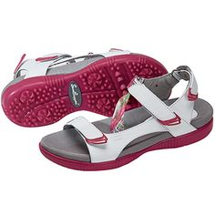 Sandbaggers Tango Berry #Golf Sandals at #golf4her.com