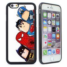 Batman, Cute Superhero, Spider-man Soft Case for iPhone 4/4s/5/5s/5c/6/6s Plus  #UnbrandedGeneric
