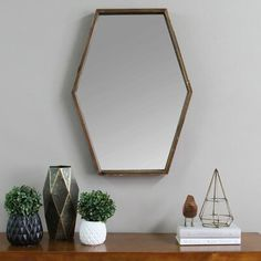JoJo Wood Mirror - Stratton Home Decor JoJo Wood Mirror by Stratton Home Decor is a perfect accent in any room. The handcrafted mirror boasts a decorative frame in a rich dark natural color that brings depth and modern style to your home. Wood Mirror, Wood Wall, Framed Mirrors, Framed Wall, Decorative Mirrors, Mirror Set, How To Clean Mirrors, Mirror Shapes, Mirrors Wayfair