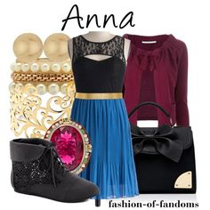 Anna by fofandoms on Polyvore featuring BP Studio, Forever New, Charlotte Russe, Wallis and ASOS