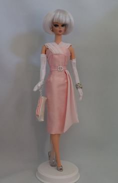 Silkstone Barbie Fashion - Evening in Pink