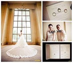 Meet Emmel and Jihan. Photos from Catilo Photography. #letterpress