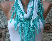 Fatwoman on Etsy - CRAZY cute scarves!