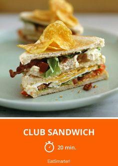Club Sandwich - smarter - Zeit: 20 Min. | eatsmarter.de