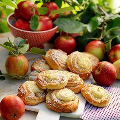 Äppelbullar med vanilj
