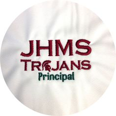 John Hopkins Middle School staff have fresh polos with custom embroidery on the left chest. Branding and informative without any extra effort. If you are not branding with a shirt of some kind, you should be. A Big Fish Production, branding perfected.