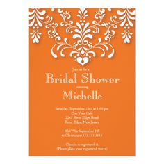 See MoreStylish Orange Damask Bridal Shower InvitationWe have the best promotion for you and if you are interested in the related item or need more information reviews from the x customer who are own of them before please follow the link to see fully reviews