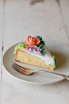 orange blossom almond cake