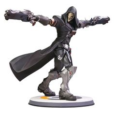 overwatch reaper 12in statue reaper ultimate video game statues overwatch reaper gamer gifts - fortnite tortenaufleger toys r us