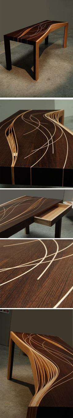 office wooden table
