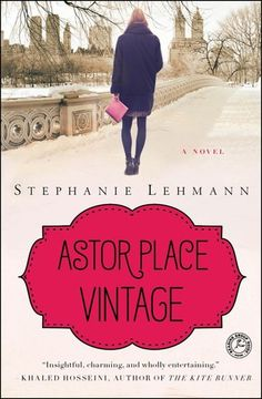 Astor Place Vintage by Stephanie Lehmann. This is one of those books that I loved almost immediately. Follow Amanda a thirtysomething woman in present day New York, who owns a vintage clothing store, and is fascinated with the past. She finds a 100 year old diary, and soon finds herself intertwined with the people and places in the diary. Loved it!
