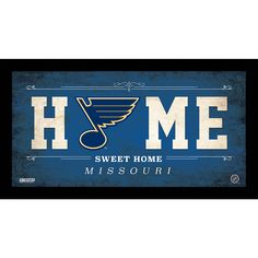 Celebrate your allegiance to your team with this incredible Framed 10x20 Home Sweet Home Team Sign. This is a must have for anyone who loves their team but can't make it to the game. This sign is perf