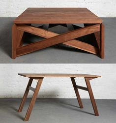 Transforming coffee table.