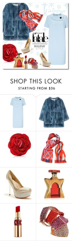 """""""Holiday style"""" by vkmd on Polyvore featuring Windsmoor, Marni, Judith Leiber, Vivienne Westwood, GUESS, Bond No. 9, Yves Saint Laurent and holidaystyle"""