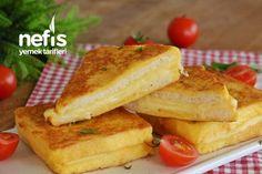 Parmak Yedirten Açık Tost – Nefis Yemek Tarifleri French Toast, Breakfast, Recipes, Pasta, Food, Morning Coffee, Rezepte, Food Recipes, Noodles