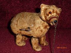 Antique Toys - Antique Teddy Bear Crossing