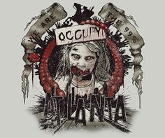Zombies Occupy Atlanta
