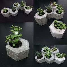 9 Noble Tips AND Tricks: Black Vases green vases inspiration.Flower Vases For Living Room. Cement Art, Concrete Pots, Concrete Crafts, Concrete Projects, Concrete Planters, Beton Design, Concrete Design, Terrarium Cactus, Papercrete