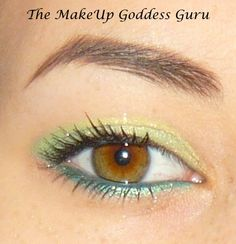 Yellow, Green, and Blue in this super springy look. $ 10 Pineapple was used in this look