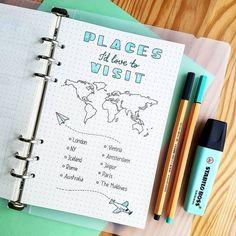 bullet journal ideas layout - bullet journal - bullet journal ideas - bullet journal layout - bullet journal inspiration - bullet journal doodles - bullet journal weekly spread - bullet journal ideas layout - bullet journal how to start a Bullet Journal School, Bullet Journal Travel, Bullet Journal Notes, Bullet Journal Writing, Bullet Journal Aesthetic, Travel Journal Pages, Bullet Journal Markers, Best Travel Journals, Trip Journal