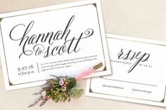 Minted's 2014 Wedding Invitations + Giveaway!