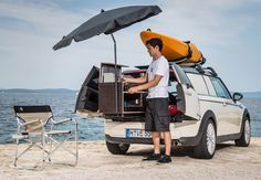 This Teeny Camper for a Mini Cooper Started as an April Fools' Joke