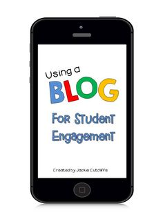 Using blogs to engage your students!