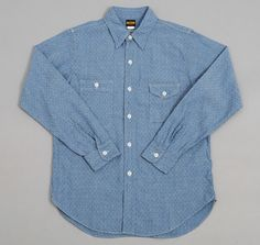 "BIG YANK: Authentic ""CP"" Shirt, Diamond Chambray"