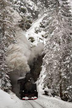 unde-l duci - ski train maramures