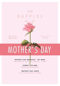 awesome Mother's Day at Raffles Hotel...