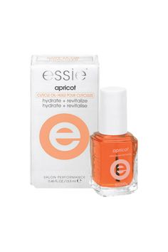essie - Nourishment for nails Apricot Cuticle Oil Products to Beat Your Winter Beauty Woes - Elle