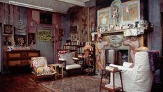 Italian Fresco Inspired Charleston House
