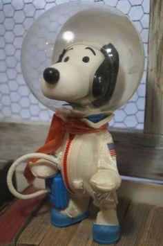 SNOOPY Vintage Pocket Doll Astronauts ver. 1969 Peanuts Original 761