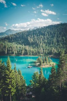 Summer in Flims - Laax, Switzerland, Caumasee, Cauma lake Places To Travel, Travel Destinations, Places To Visit, Switzerland Summer, Austria Travel, Photos Voyages, Europe Travel Guide, Ultimate Travel, Travel Pictures