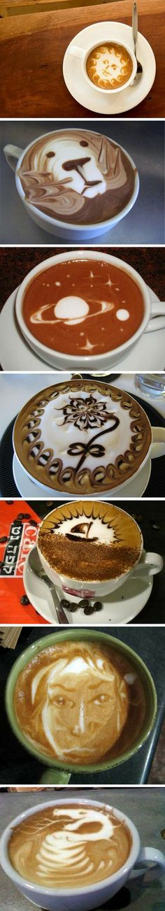 Latte Art. I need to lear just one.