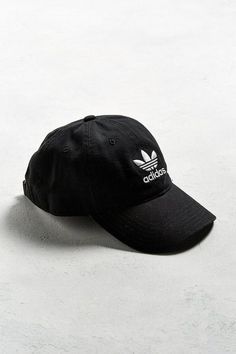 Shop adidas Originals Relaxed Baseball Hat at Urban Outfitters today. ae629eaeca07