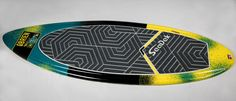 Our friend Robby Maschhaupt with Charlotte Ski Boats sent us his O'Brien wakesurf board to have custom SeaDek pads installed. We had a lot of fun coming up with the concept and design for the pads. We think they turned out great! Check out the before and after photos below.