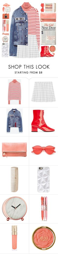 """No Idea"" by doga1 ❤ liked on Polyvore featuring Jakke, Dorateymur, Clare V., HAY, Casetify, Vera Bradley, Smith & Cult, Milani and Hourglass Cosmetics"
