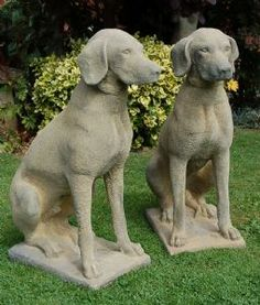 Pair of Hunting Dogs Statues WANT they look like our old