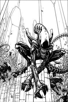 Alien Dark Horse comics