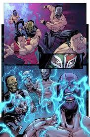lucha underground comics covers