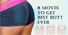 Tending to give your butt some sexy definition you can use these moves below, designed by fitness trainer and model Elizabeth Bracero. Follow Bracero's instructions on the GIFS.