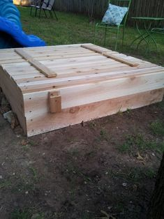 DIY Sandbox with Cover | The Owner-Builder Network