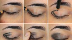 An amazingly easy way of doing smokey eyes! A must try