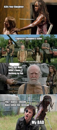 But... no just don't kill anyone!!!! I miss Herschel