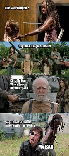 But... no just don't kill anyone!!!! I miss Herschel