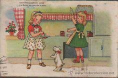 POSTAL DE EDITORIAL BENISI EDICIONES COLON - SERIE 132-7 (Postales - Dibujos y Caricaturas)
