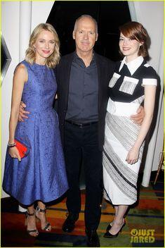 Emma Stone & Naomi Watts Join 'Birdman' Cast for a Luncheon!