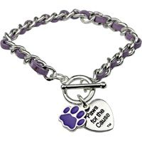 Check Out The FreeKibble Wonderfunder: Paws for the Cause Cable Chain Bracelet! at The Animal Rescue Site